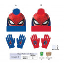 wholesale Scarves, Hats & Gloves: Set 2 pieces Spiderman hat + gloves