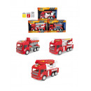 wholesale Toys: fire truck with light and sound 22x33x12 cms