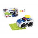 wholesale Car accessories: Police car with light and sound 23x10.5x13 cms