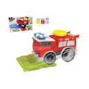 fire truck with light and sound 23x10,5x13 cms