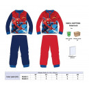 wholesale Sleepwear: Pijama Spiderman interlock size 3-4-5-6-8, 100% co