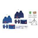 Großhandel Lizenzartikel: 3 Stück setzen Spiderman Hut + Handschuhe + Nacken
