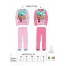 hurtownia Fashion & Moda: piżama cry baby -0503 bawełna 150 gramów .2-3