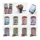 hurtownia Upominki & Artykuly papiernicze: portfel + etui na komórkę nowa skóra ekologiczna s