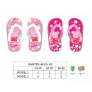 hurtownia Fashion & Moda: japonki Peppa Pig rozmiar. 23 / 25-26 / 27-28 / 30