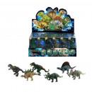 groothandel Speelgoed: dinosaurussen binnen Display 24 stuks 11x4,5x4 cm