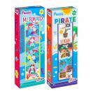 Großhandel Spielwaren: Meerjungfrau / Pirat vertikales Puzzle 24 Teile 47