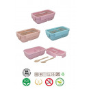 wholesale Kitchen Electrical Appliances: SANDWICHERA C / CUTLERY 850ML 3 COL 19,5x11,9x7,1