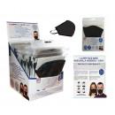 mascherina igienica riutilizzabile nera per adulti