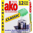 wholesale Cleaning: Ako Pads stainless steel 12 pieces