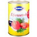 Sofko Djuwetsch mixed vegetables, steamed 4250ml