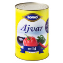 wholesale Food & Beverage:Sofko Ajvar mild 4250ml
