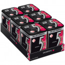 Wrigleys 5 GUM strawberry 35 pieces (6x 35 pieces)