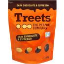 Treets Peanuts Dark Chocolate & Espresso 140g