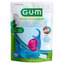GUM EASY-FLOSSERS dental floss sticks, 30 pieces