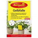 grossiste Plantes et pots: Piège Aeroxon jaune pour plantes en pot 10 pièces