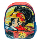 Backpack Mickey Roadster Racers. With sequins re