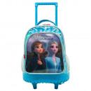 wholesale School Supplies: Compact double body trolley with wheels frozen II