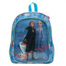 wholesale School Supplies: Backpack frozen 2 5D effect vision film with bowl