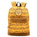 Afrika Taschen Rucksack mit Tasche. Gummietikett