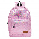 Pink Laser Ranking backpack with pocket. - 30 X 4