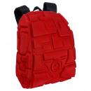 Kompakter roter Tetris Eva 3D Rucksack. - 28 x 38