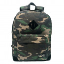 Pretekt Green Camouflage backpack with pocket. - 3