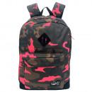 Pink Camouflage Pretekt backpack with pocket. - 30