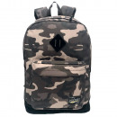 Grauer Camouflage Pretekt Rucksack mit Tasche. - 3