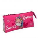 Portatodo Triple Sweet Dream - 22 X 12 X 5 CM.