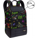 Game Over Multifunction backpack. Ideal for studyi