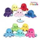 hurtownia Zabawki pluszowe & lalki: Dwustronna ośmiornica 5 mod mix 19cm