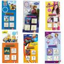 Großhandel Puppen & Plüsch: Blister 3 verschiedene Briefmarken