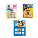 Großhandel Puppen & Plüsch: Blister 5 verschiedene Briefmarken