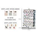 Amovible Tattoo & ongles autocollant 62162