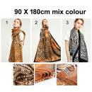 Damessjaal, damessjaals Laatste!!! 90 X 180 cm