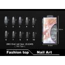 Kunstnagels 2003 Ovale nageltips (CLEAR)