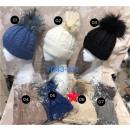 Bonnet femme modèle classique avec fourrure vérita