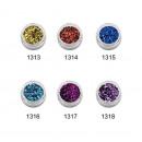 Nails Glitter 1313 - 1318