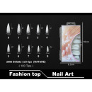 Faux ongles 2005 Stiletto Nail Tips (NATURE)