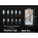 Faux ongles 2003 Bouts d'ongles ovales (NATURE