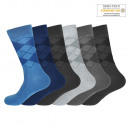 Men's Cotton Socks Solid Argyle SK-207