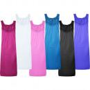 Luxus Nachthemd Schlafkleid ohne Ärmel 1101