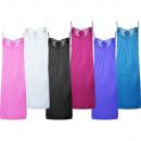 Luxus Nachthemd Schlafkleid Verstellbare Träger 11