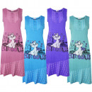 Ladies Cotton Nightdress Without Sleeve 6903