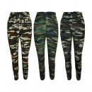 Dames Camouflage Pantalon Slim-Fit 33039