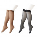 Chaussettes Femme Noir-60Den