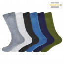 Unisex Cotton Socks Plain SK-200