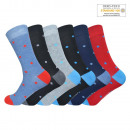 Unisex Cotton Socks Dotted SK-209