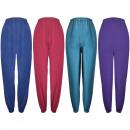 Damen Baumwolle einfarbig Schlafanzug Hose 707
